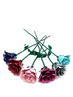 Single Long Stem Bouquet Rose