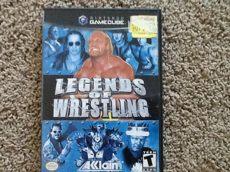 Legends of wrestling spencer test