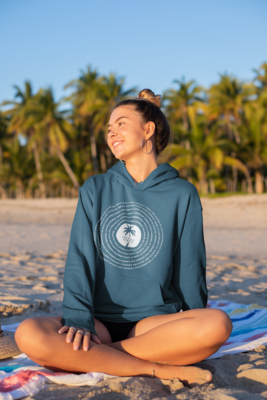 Island Vibes Unisex Hooded Sweatshirt