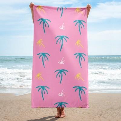 Summer Palms Towel