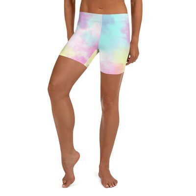 Tie Dye Summer Bike Shorts