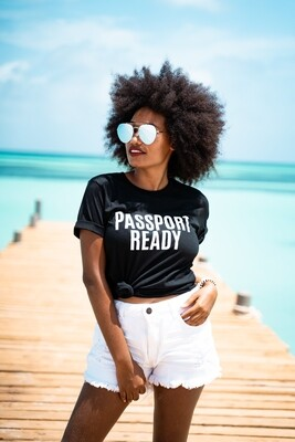 Passport Ready Unisex T-shirt