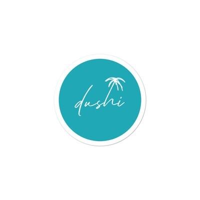 Dushi Round Logo Bubble-free stickers