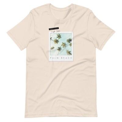 Mentally I Am Here Palm Beach T-Shirt
