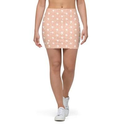 Daydreamer Pattern Mini Skirt