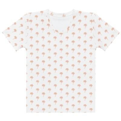 Daydreamer Palm Print Womens T-shirt