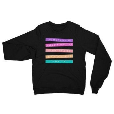 Coconut Sipping Kinda Girl California Fleece Raglan Sweatshirt