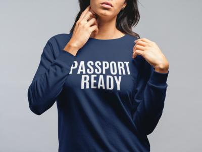 Passport Ready Travel Unisex Sweatshirt