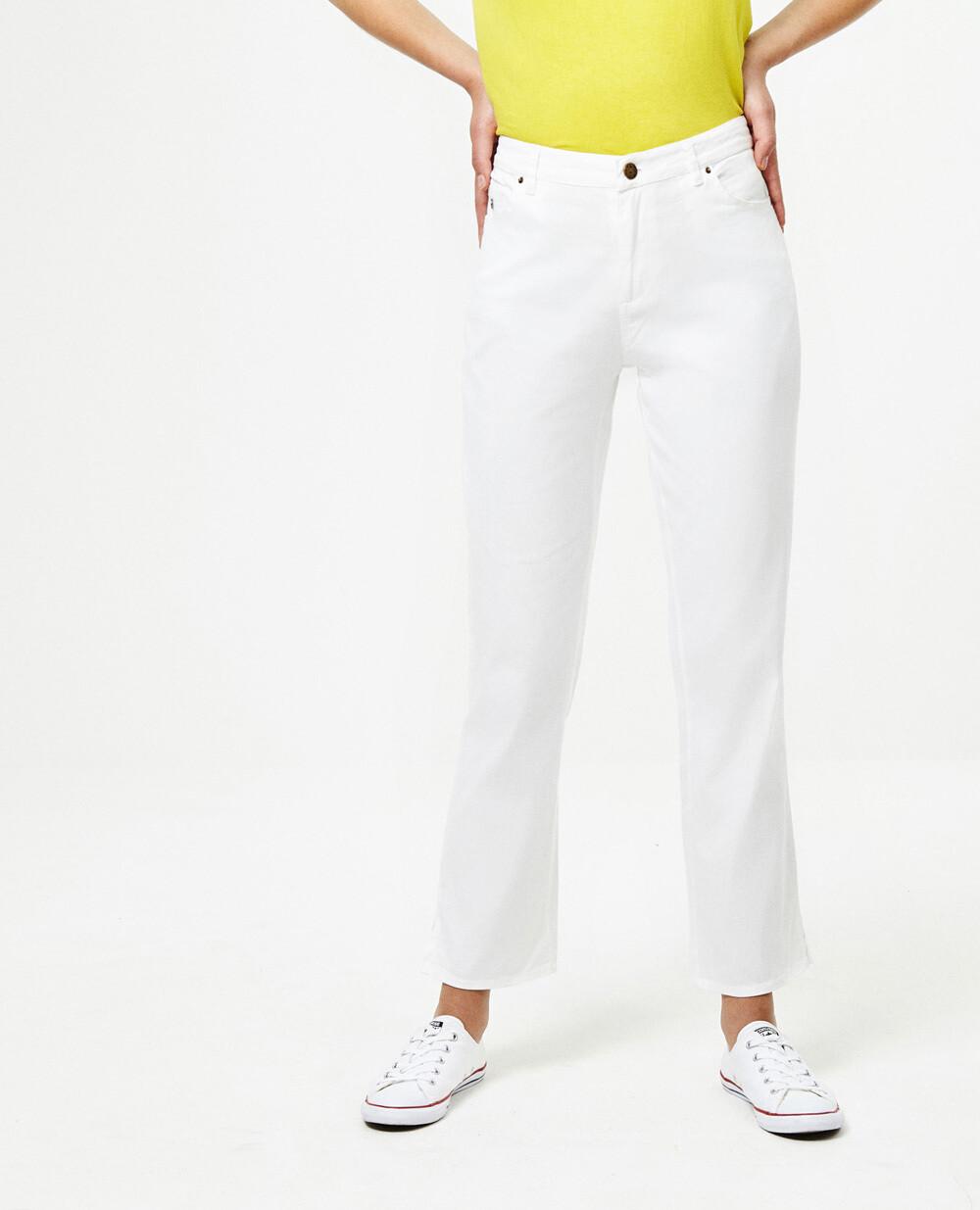 Surkana pantalone jeans bianco
