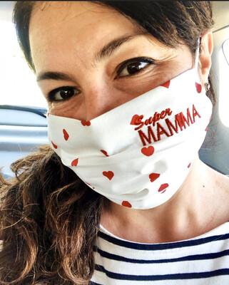 Mascherina Super Mamma