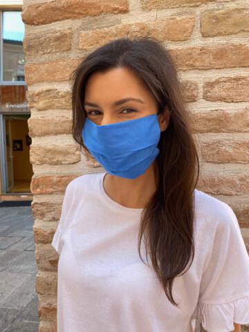 Mascherina Unisex blu