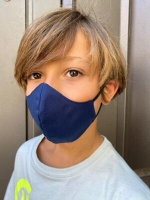 Mascherina Bambina/o A Conchiglia Blu