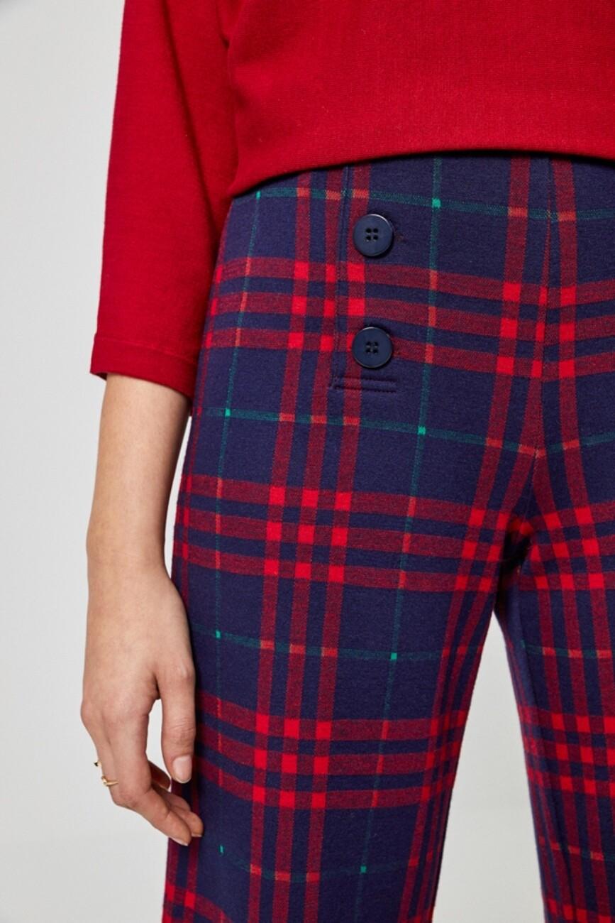 Surkana pantalone a quadri