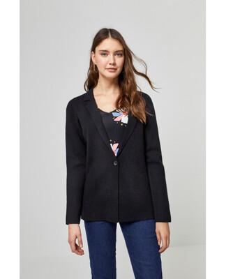 Surkana giacca in maglia