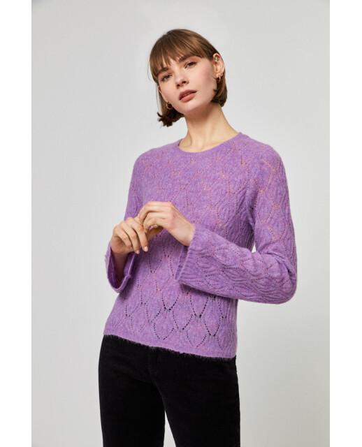 Surkana maglia lilla