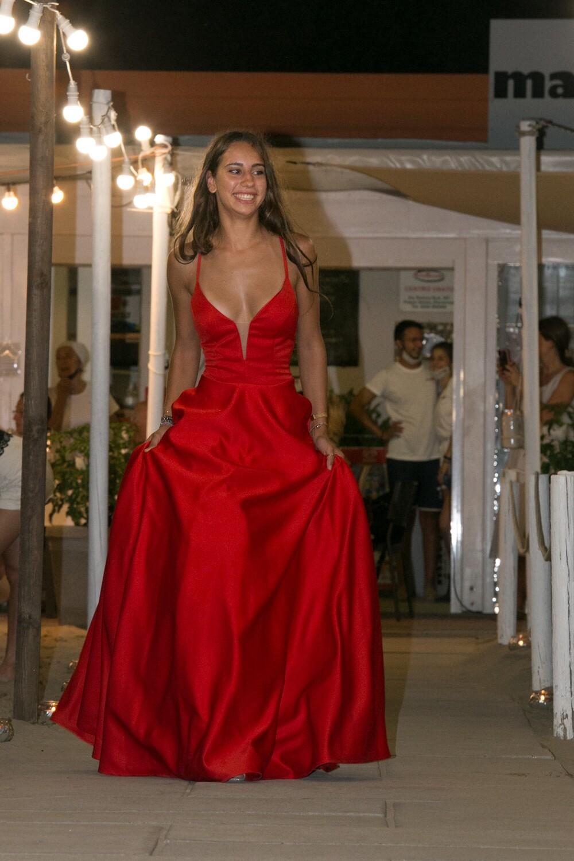 Collezione cerimonia abito rosso