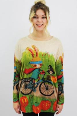 maglia conigli in bici