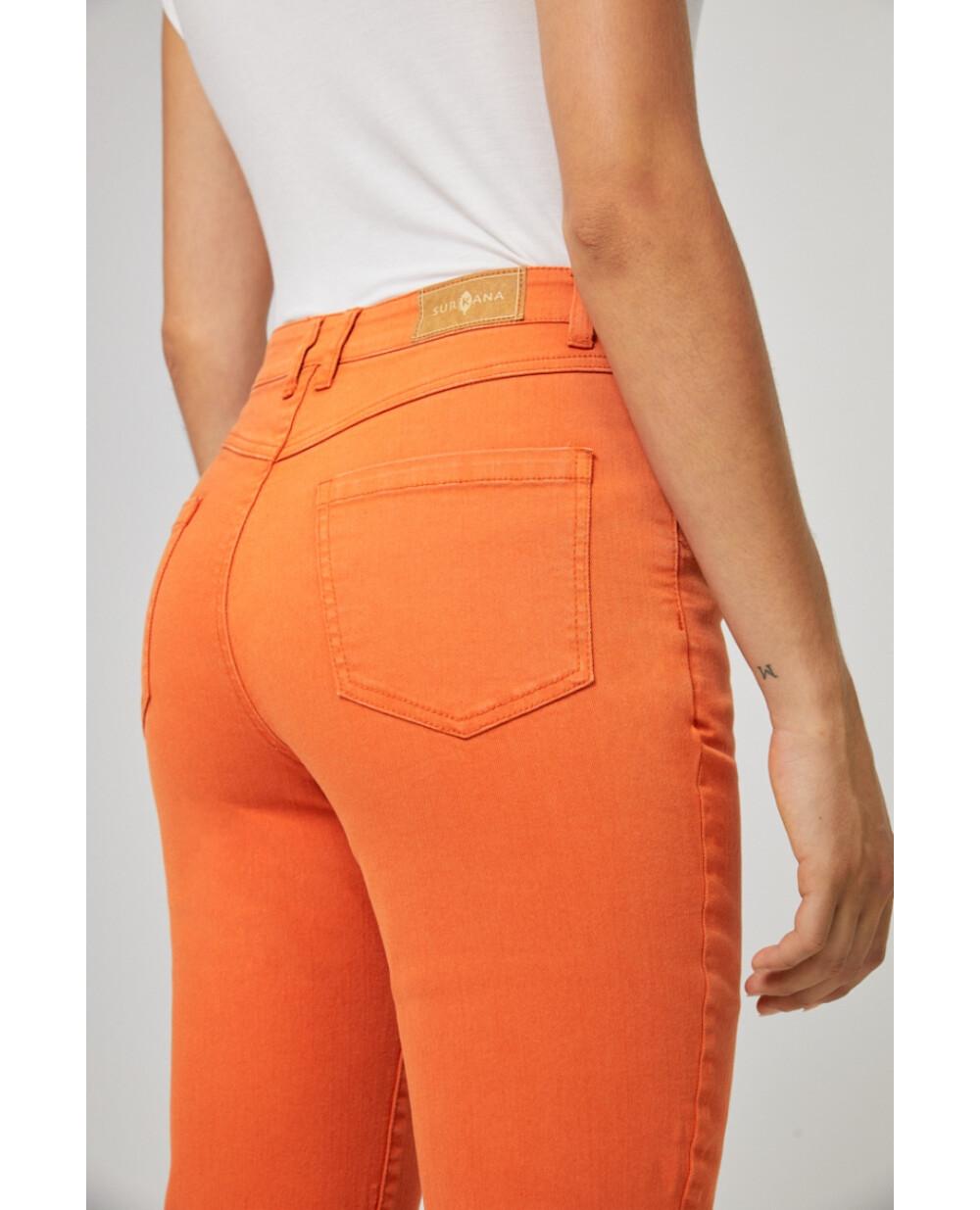 Surkana pantalone jeans arancione