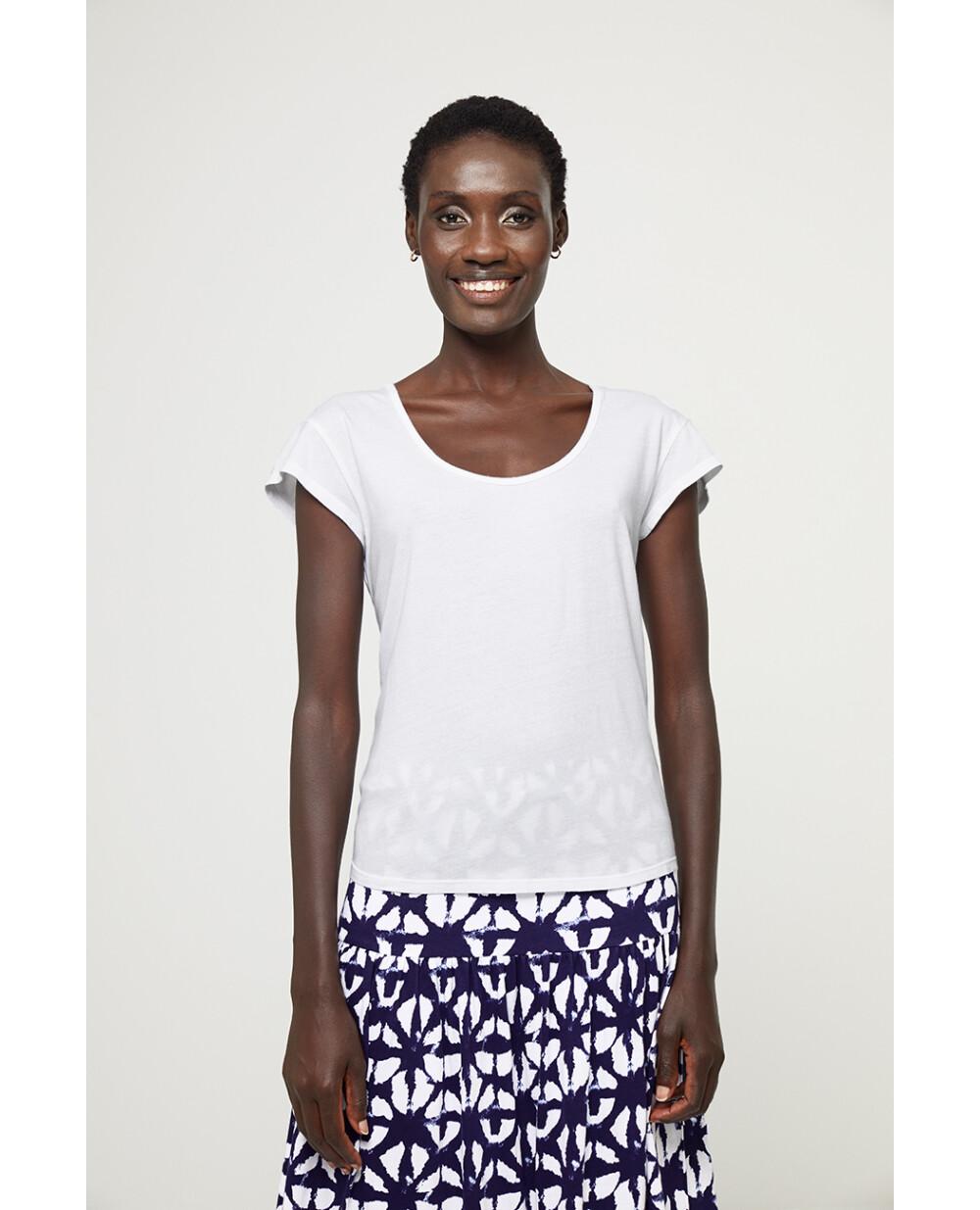 Surkana maglia basica bianca