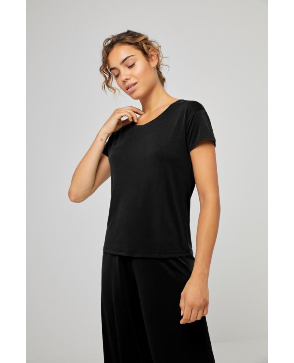 Surkana maglia  semplice nera