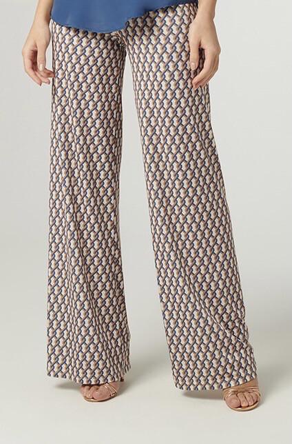 Pantalone microfantasia