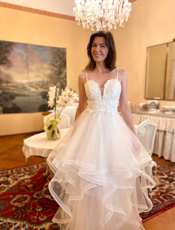 Collezione cerimonia abito sposa
