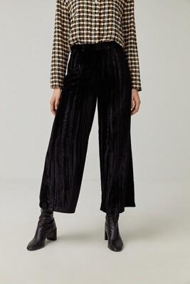 Surkana pantalone velluto lucido