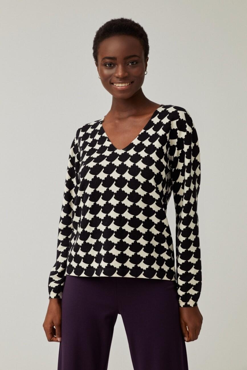 Surkana maglia bicolore