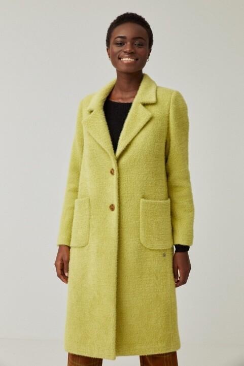 Surkana cappotto verde acido