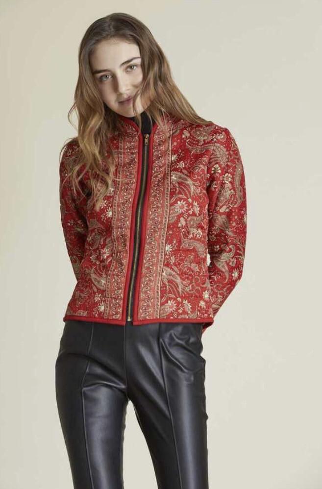 Derhy giacca trapuntata rossa