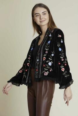 Derhy giacca in velluto nera