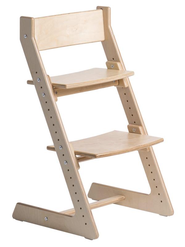 """Скидка дня! Новый дизайн! Регулируемый универсальный стул цвет """"Natural"""" -прозрачный лак"""
