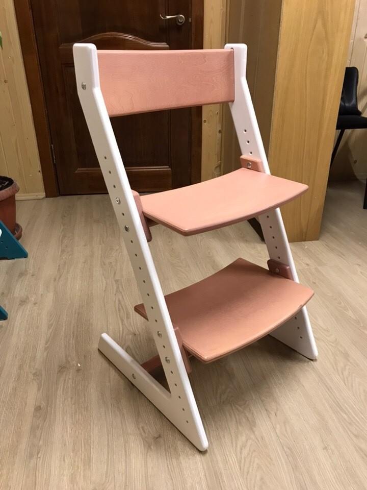 """Скидка дня! Новый дизайн! Регулируемый универсальный стул цвет """"Pink-and-White"""""""