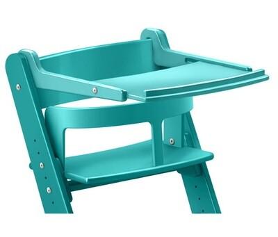 Жесткий ограничитель + столик в цвет стула детям с 3-х месяцев (доступны все цвета)