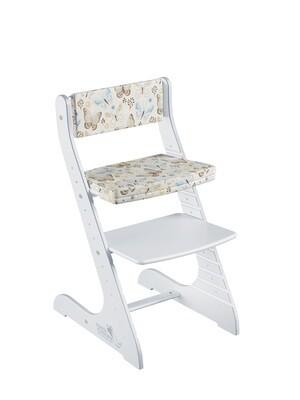 "Мягкая подушка для стула Конек Горбунек Стандарт ""Бабочки"""
