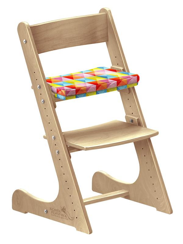 """Мягкая подушка для стула Конек Горбунек """"Арлекино-Лето"""""""