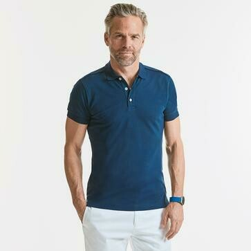 POLO UOMO RUSSELL STRETCH