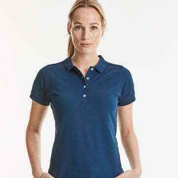 POLO DONNA RUSSELL STRETCH