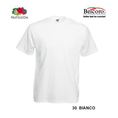 T-SHIRT FRUIT OF THE LOOM ORIGINAL BAMBINO BIANCA
