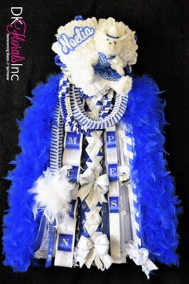 Triple Junior Sweetheart Homecoming Mum