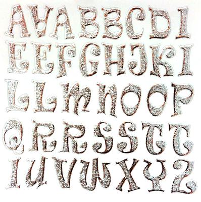 Retro Letters - Per Letter