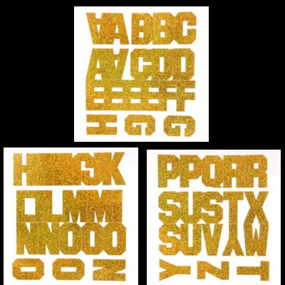 Block Stickers - Per Letter