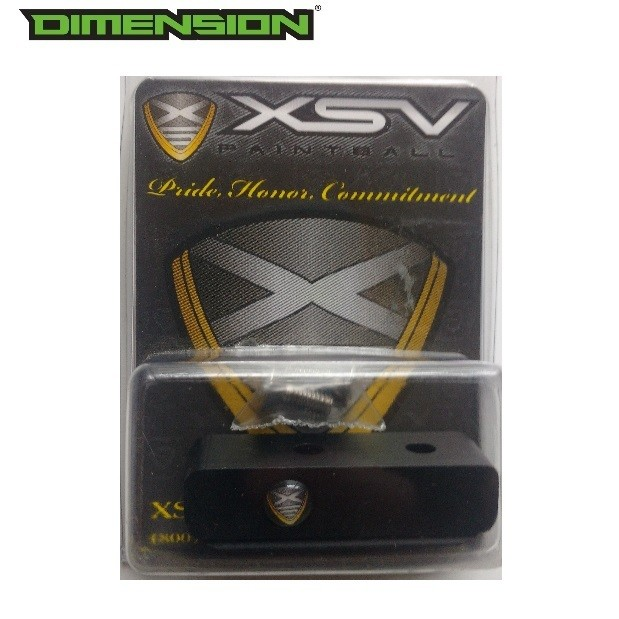 XSV Paintball Rail - Dust Black
