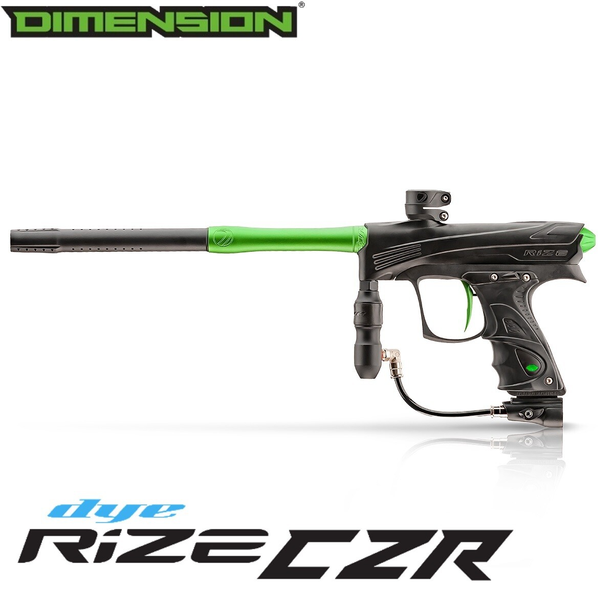 Dye Rize CZR Marker - Black/Lime Dust
