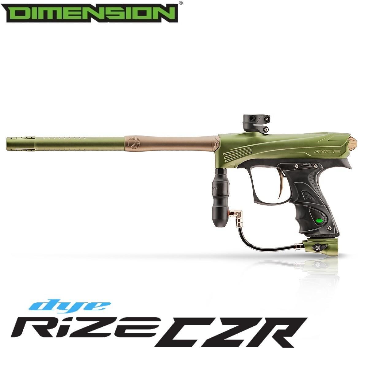 Dye Rize CZR Marker - Olive/Tan Dust