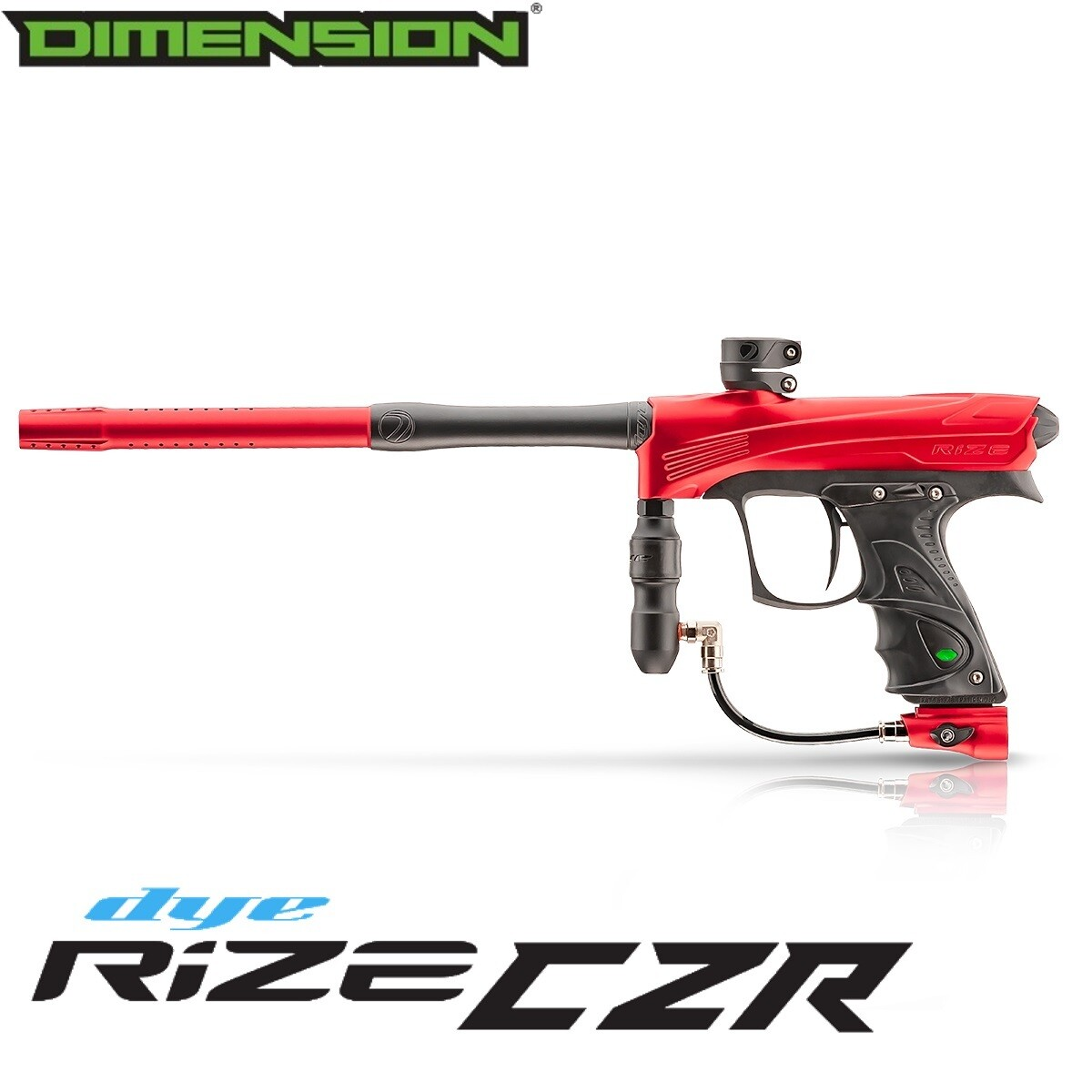 Dye Rize CZR Marker - Red/Black Dust