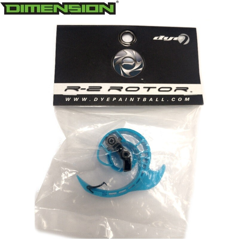 Dye Rotor/Rotor R2/LTR Loader Center Arm - Blue