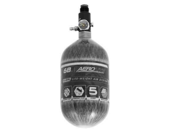 HKARMY AeroLite Carbon Fiber Tank - 68ci / 4500psi - Clear