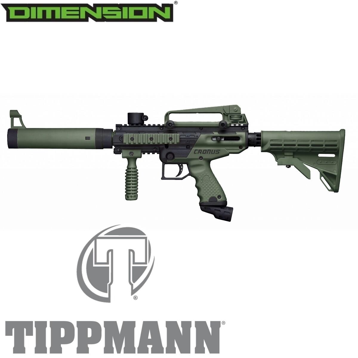 Tippmann Cronus Tactical .68 Cal Marker - Black / Olive