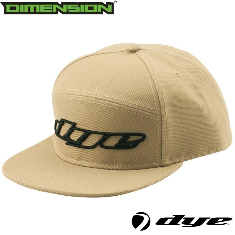 Dye Snap Back Hat Logo - Tan